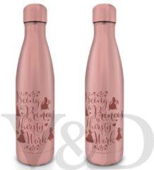 Disney Princess Thirsty Work - Metalen drink fles