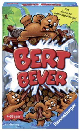 Afbeelding van Blauwe Ravensburger Bert Bever - pocketspel