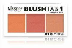 Miss Cop Draping Tab Blush – 01 Blonde