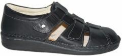 Zwarte Finn Comfort 1034 wijdte H