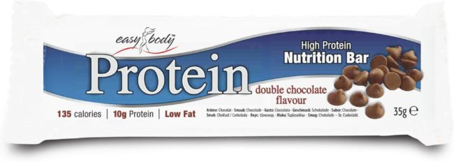 Afbeelding van QNT - Easy Body High Protein Nutrition Bar - 24 repen - Double Chocolate