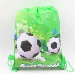 Groene Akyol Voetbal rugzak - Voetbaltas - Rugtas - Zwemtas - Tas - Tasje - Voetbal - Kindertas - Football bag pack - Soccer bag pack - Children's bag pack