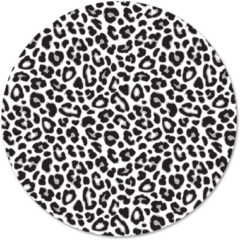 Beige Label2X Muurcirkel klein effen pale groen - Ø 40 cm - Forex (binnen)