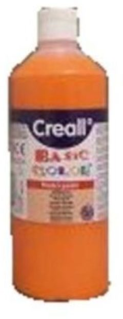 Bruna Plakkaatverf Creall basic 04 oranje 500ml