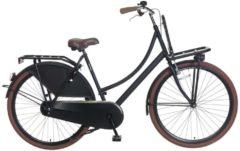 28 Damen Holland Fahrrad Popal Carrier LIN28 Popal schwarz