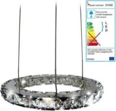 Heute-wohnen LED-Hängeleuchte HW152, Hängelampe Deckenleuchte Pendelleuchte, Kristallglas 8W EEK A