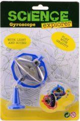 John Toys Gyroscoop met licht/geluid JohnToy Science Explorer