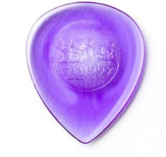 Paarse Jim Dunlop Dunlop Big Stubby Pick 6-Pack 2.00mm plectrum