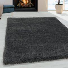 Impression Himalaya Pearl Soft Shaggy Hoogpolig Vloerkleed Grijs - 80x150 CM