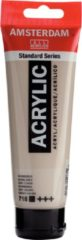 Royal Talens Amsterdam Standard acrylverf tube 120ml - 718 - Warmgrijs - dekkend
