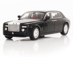 Rolls-Royce TrueScaleModels 1:43 Rolls Royce Phantom Long Wheel Base - 2010, Zwart