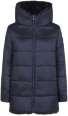 Marineblauwe Save The Duck Jas - Maat L - Vrouwen - navy
