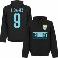 Zwarte Retake Uruguay Suarez 9 Team Hooded Sweater - M
