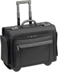 Business & Travel Pilotenkoffer Trolley 46 cm Laptopfach D&N schwarz