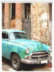 Seitenzugrollo, Lichtblick, »Klemmfix Dekor Kuba«, Lichtschutz, Fixmaß, ohne Bohren