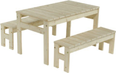 Outdoor Life Products | Kindertafel met bankjes 'jackie'