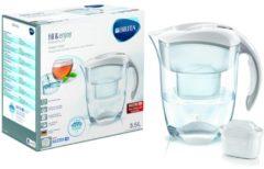 Brita ElemarisXLMXplus ws (4 Stück) - Wasserfilter m.MaxtraPlus-Filter ElemarisXLMXplus ws