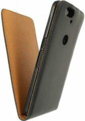 Zwarte Xccess Flip Case Huawei Google Nexus 6P Black