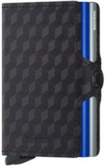 Blauwe Secrid Twinwallet pasjeshouder optical titanium blue