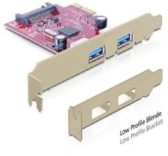 Delock PCI Express card > 2x USB 3.0 - USB-Adapter - PCI Express x1 89277