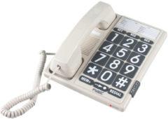 Fysic FX-3100 Big Button telefoon | Goed zichtbaar, groot toetsenbord en 3 directe snelkiestoetsen | Wit