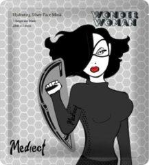 Mediect Wonder Woman Mediect Hydrating Silver Wonder Woman Gezichtsmasker 28ml - Zilveren Masker - Gezichtsverzorging - Anti Age - Anti-Rimpel - Anti Aging - Skincare - Huidverzorging - Face Mask - Facial Sheet Mask - Hydraterend Masker - Verzorgende Mask