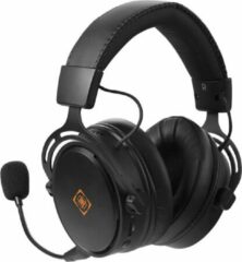 Deltaco Gaming DH410 Wireless Gaming Headset GAM-109 - 2.4 GHz draadloze gaming hoofdtelefoon USB dongle - losse microfoon - zwart