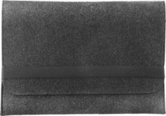 LAPPR® - Laptophoes - Laptopsleeve vilt - Laptoptas - Duurzaam - Bestseller - 14 inch - Zwart + GRATIS WEBCAMCOVER