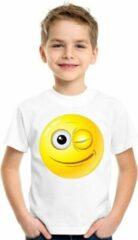 Witte Bellatio Decorations Regular fit Unisex T-shirt Maat 134/140