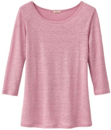 Afbeelding van Enna Shirt met ronde hals, rozenhout 36/38