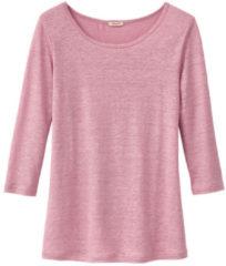 Enna Shirt met ronde hals, rozenhout 40/42