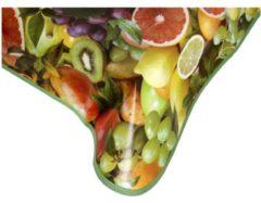 Beige Wachstuchtischdecke Obst, 130 x 160 cm, bunt