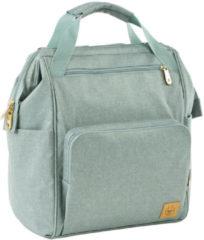 Groene Lässig luierrugzak met verzorgingsmatje, Glam Goldie Backpack, Mint