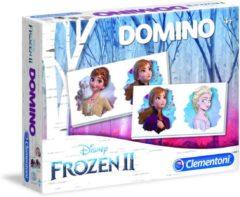 Clementoni - Spel Domino Pocket - Disney Frozen 2 - Kaartspel