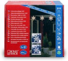 Konstsmide 4439-103CH decoratieve verlichting Lichtdecoratie figuur Transparant 60 lampen LED 12 W