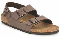 Birkenstock Milano Nubuck Mocca Slippers Heren Size : 45