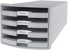 HAN IMPULS 2.0 1013-11 Ladebox Lichtgrijs DIN A4, DIN C4 Aantal lades: 4