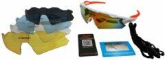 Oranje Apeirom Dione Sportbril 1.1 mm polariserend