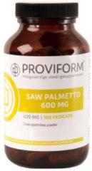 Proviform Saw Palmetto 600mg Vegicaps 100st