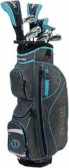 Grijze Spalding SX-35 Complete 14-Delige Golfset - Dames - Graphite - Std Lengte