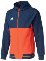 Präsentationsjacke Tiro 17 BQ2776 adidas performance collegiate navy/energy s17/white