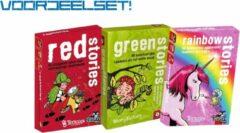 Tucker's Fun Factory Voordeelset Red -, groen - en Rainbow Stories (set van 3)