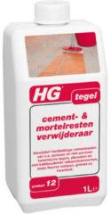 HG rein mid Tegel, uitvoering cement & mortelresten ver