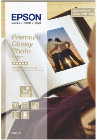 Afbeelding van Epson Premium Glossy Fotopapier 10 x 15 (40 Vellen)