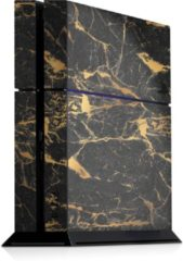 Gouden Ucustom Playstation 4 Console Skin Marble