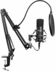Zwarte Sandberg Streamer USB Microphone Kit