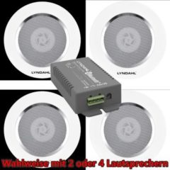 LYNDAHL Lautsprecher-Set, CS200BT-AMP und CS120AL, mit 2 oder 4 Lautsprechern Größe: mit 4 Lautsprechern