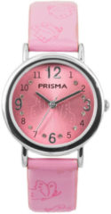 Coolwatch by Prisma CW.310 Kinderhorloge Butterfly staal/leder Roze 29 mm