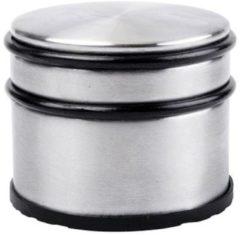 Zilveren Deurstop - Deurstopper - Deurvastzetter - Deurbuffer - Hoog - RVS