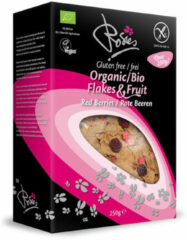 Rosies Flakes & Fruit (Gluten Vrij) - 250 gram - Red berries